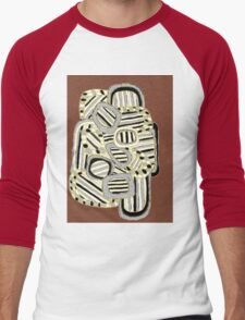 Tarnished Gold Men's Baseball ¾ T-Shirt