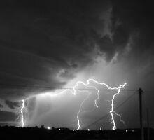 Lightning Show by ponchoanaya