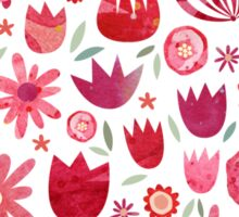 Summer Flowers Sticker