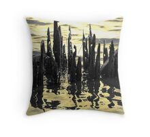 They Call It Liquid Gold Throw Pillow