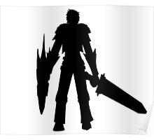 MH4U Sword and Shield Shirt Poster