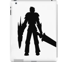 MH4U Sword and Shield Shirt iPad Case/Skin