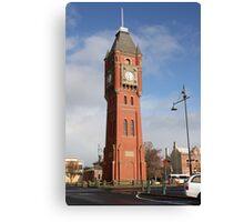 Clocktower Canvas Print