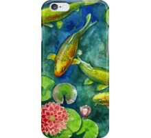 pond iPhone Case/Skin