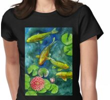 pond Womens Fitted T-Shirt