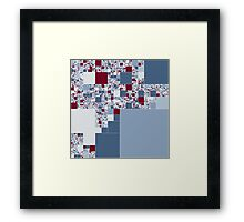 A Snow and Painful Death Framed Print
