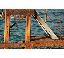 Jetty Stair Photographic Print