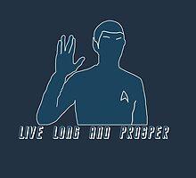 Live Long And Prosper v2~ by LadyFullmetal