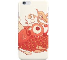 Japanese Red Carp iPhone Case/Skin