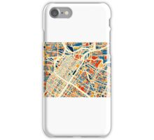 Houston Map - Full Color iPhone Case/Skin