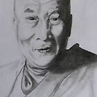 The Dalai Lama by selca6