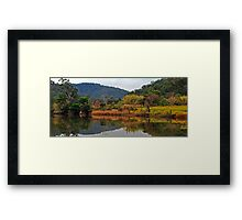 View From Settlers Road Framed Print