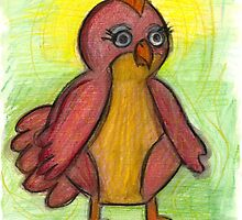 Benevolent and magnanimous chicken by Fiona Lokot
