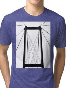 Cable Bridge Abstract Tri-blend T-Shirt