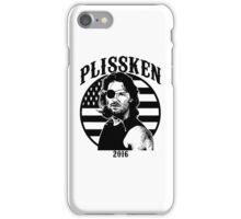 Plissken For President 2016 iPhone Case/Skin