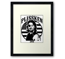 Plissken For President 2016 Framed Print