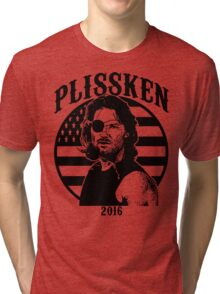 Plissken For President 2016 Tri-blend T-Shirt