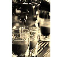 Espresso Extraction Photographic Print