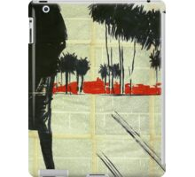 Landscape with palm trees.  iPad Case/Skin