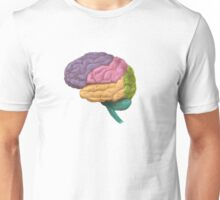 Lobes of the Brain Unisex T-Shirt