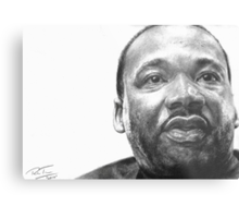 Martin Luther King Jr. Metal Print