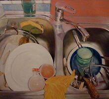 Dishes by Neale Sommersby