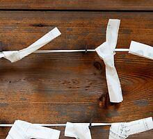 Paper Fortunes at Fushimi Inaritaisha by nekineko