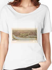 The ultimate Washington D.C. Map (1915) Women's Relaxed Fit T-Shirt