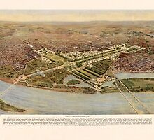 The ultimate Washington D.C. Map (1915) by allhistory