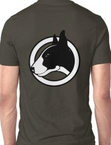 Black and White Bull Terrier Design  Unisex T-Shirt