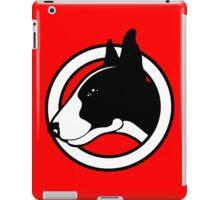Black and White Bull Terrier Design  iPad Case/Skin