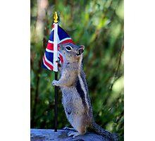 Jasper Recruited Chippy To Represent the UK Photographic Print