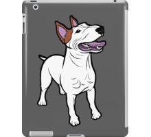 Happy Bull Terrier  iPad Case/Skin