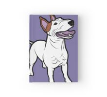 Happy Bull Terrier  Hardcover Journal