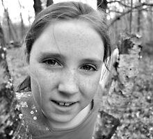 Sarah Portrait by Kevin McAvey