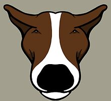 EBT Head Profile Brown and White  by Sookiesooker