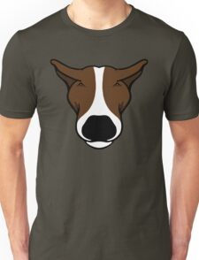 EBT Head Profile Brown and White  Unisex T-Shirt