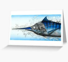 Marlin Greeting Card