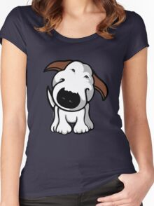 Really? Bull Terrier Women's Fitted Scoop T-Shirt