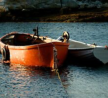 Fishing Boats ~ Peggy's Cove Nova Scotia by Roxane Bay