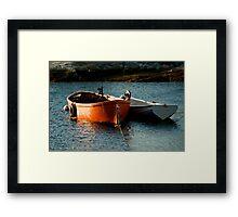 Fishing Boats ~ Peggy's Cove Nova Scotia Framed Print