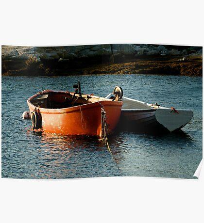 Fishing Boats ~ Peggy's Cove Nova Scotia Poster