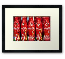 World Cup Coke Framed Print