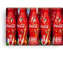 World Cup Coke Canvas Print