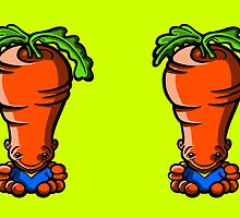 Calvin the Carrot by Sookiesooker