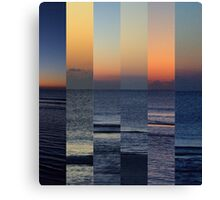Stages of Sunrise Canvas Print