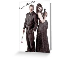 Get Smart Greeting Card
