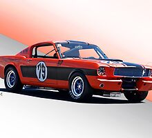 1965 Shelby Mustang GT350 Production GT by DaveKoontz