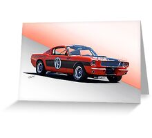1965 Shelby Mustang GT350 Production GT Greeting Card
