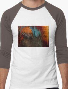Navajo Waves Men's Baseball ¾ T-Shirt